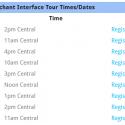 Affiliate Interface Generation 6 Webinar Registration