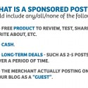 #HowTo – How to Value your Blog for Sponsored Posts