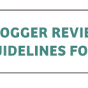 Top 10 Blogger Review and Giveaway Guidelines for Merchants