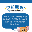 Tip of The Day by ShareASale