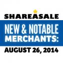 New & Notable Merchants: August 26, 2014
