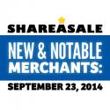 New & Notable Merchants: September 23, 2014