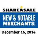 New & Notable Merchants: December 16, 2014