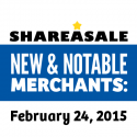 New & Notable Merchants: February 24, 2015