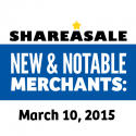 New & Notable Merchants: March 10, 2015