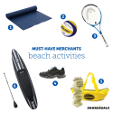 Must-Have Merchants: Beach Activities