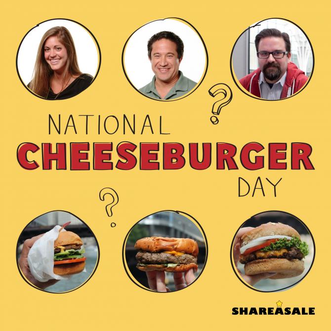 Happy National Cheeseburger Day! - ShareASale Blog