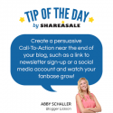 Tip of the Day: Content Call-to-Action