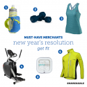 Must-Have Merchants: Fitness Resolutions