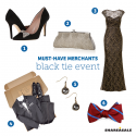 Must-Have-Merchants: Black Tie Event