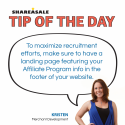 Tip of the Day: Recruitment
