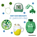 Must-Have-Merchants: St. Patrick's Day