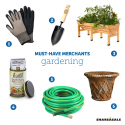 Must-Have Merchants: Spring Gardening