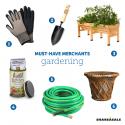 Must-Have Merchants: Spring Gardening