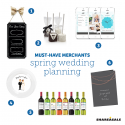 Must-Have-Merchants: Spring Wedding Planning