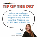 Tip of the Day: New Deals Help Recruiting