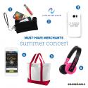 Must-Have-Merchants: Summer Concert
