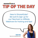 Tip of the Day: Webinars