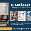 SHAREASALE FALL 2016 CATALOG RELEASED!