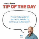 Tip of the Day: Set Up Autodeposit to Stay Online!