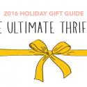 #GiftGuides: Gifts for the Ultimate Thrifter