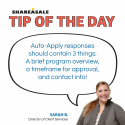 Tip of the Day: Auto-Apply Email Responses