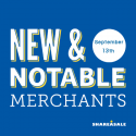 New & Notable Merchants: September 13, 2016