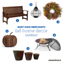 Must-Have Merchants: Fall Outdoor Home Decor