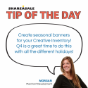 Tip of the Day: Seasonal Banners
