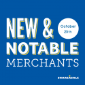 New & Notable Merchants: October 25, 2016