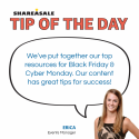 Tip of the Day: Black Friday and Cyber Monday Resources