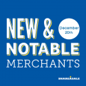 New & Notable Merchants: December 20, 2016