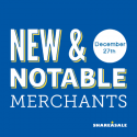 New & Notable Merchants: December 27, 2016