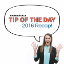 2016 Tip of the Day Roundup