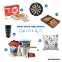 Must-Have-Merchants: Game Night