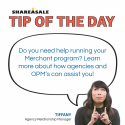 Tip of the Day: Benefits of OPM's