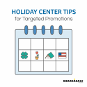Holiday Center Tips for Targeted Promotions