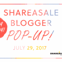 ANNOUNCING! ShareASale Blogger Pop-Up