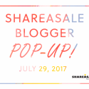 A Sneak Peek into the ShareASale Blogger Pop-Up
