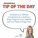 Tip of the Day: Create a Blogger 'Shop' Page