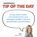Tip of the Day: Use your Shortened Affiliate Links on Instagram