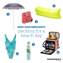 Must-Have-Merchants: Packing for a Beach Getaway