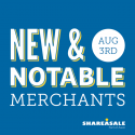 New & Notable Merchants: August 3, 2017