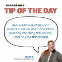 Tip of the Day: Activity Feed