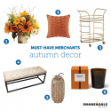 Must-Have Merchants: Autumn Decor