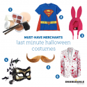 Must-Have Merchants: Last Minute Halloween Costumes