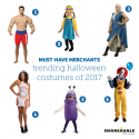 Must-Have Merchants: Trending Costumes of 2017