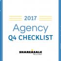 2017 Agency Q4 Checklist