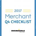 2017 Merchant Q4 Checklist