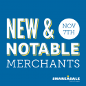 New & Notable Merchants: November 7, 2017
